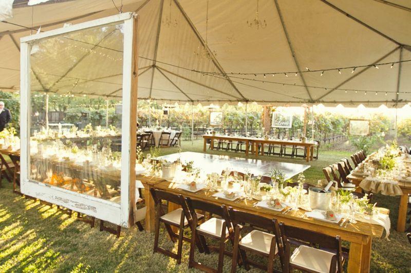 Rustic Handmade California Wedding