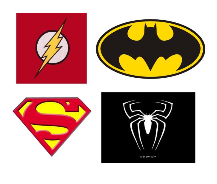 Superhero Logos To Print Clipart Best Superhero Logo Templates Superhero Logos Superhero Images