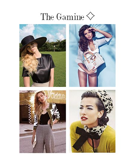 Opposition is a key element for all Styles in The Gamine