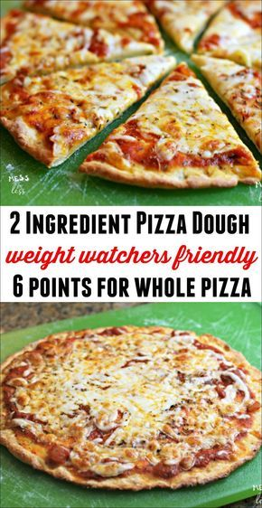 Find out how to make this Weight Watchers friendly 2 Ingredient Pizza Dough You can have an entire pizza with toppings for 6 Freestyle Points It tastes amazing and you wo...