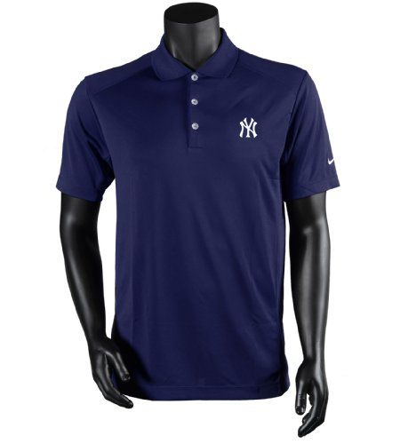 Men s Nike New York Yankees Dri-Fit Victory Polo. Variations  (Navy) Color bdaf46ef09f