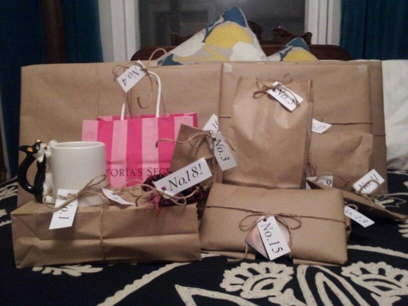 18 Presents For 18th Birthday Great Idea Some Big Little Gift 1 2 Her Favorite Chi Tea And Donut In The Morning This Was So Much Fun