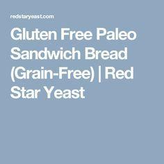 Gluten Free Paleo Sandwich Bread (Grain-Free) | Red Star Yeast