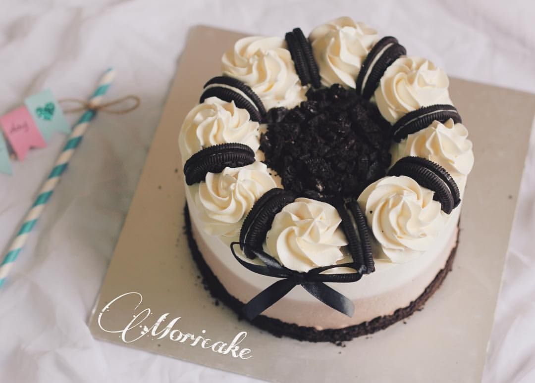 With oreo cake everything seems so fine ...
