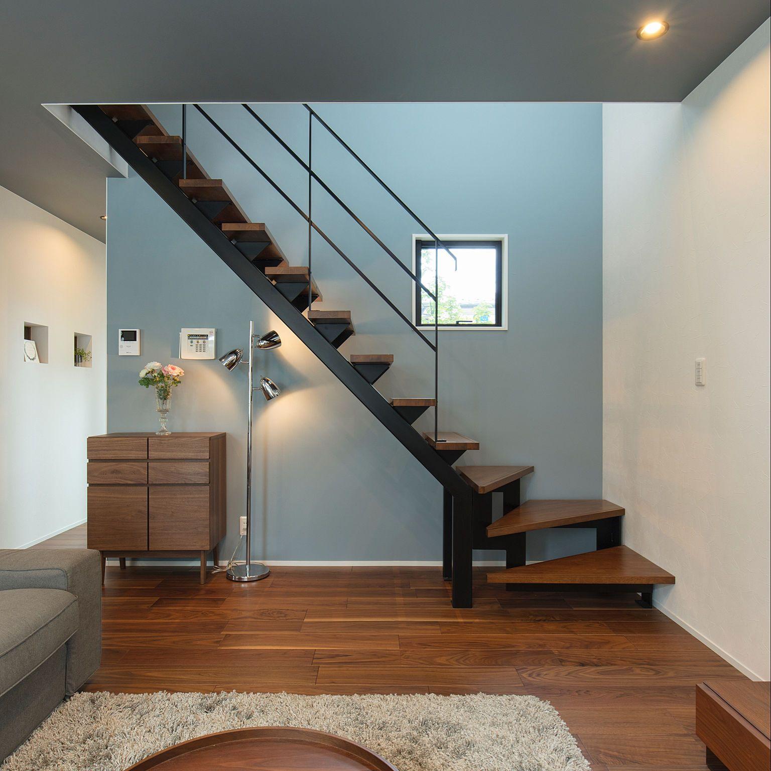 壁 天井 リビングイン階段 壁紙 家coco 新築 などのインテリア実例 2018 01 15 10 01 54 Roomclip ルームクリップ