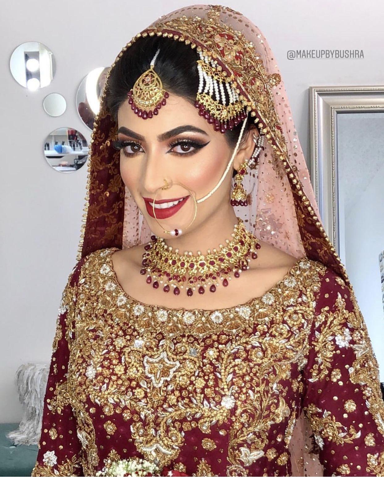 Bridle Dress, Bridal Makeup, Pakistani Wedding