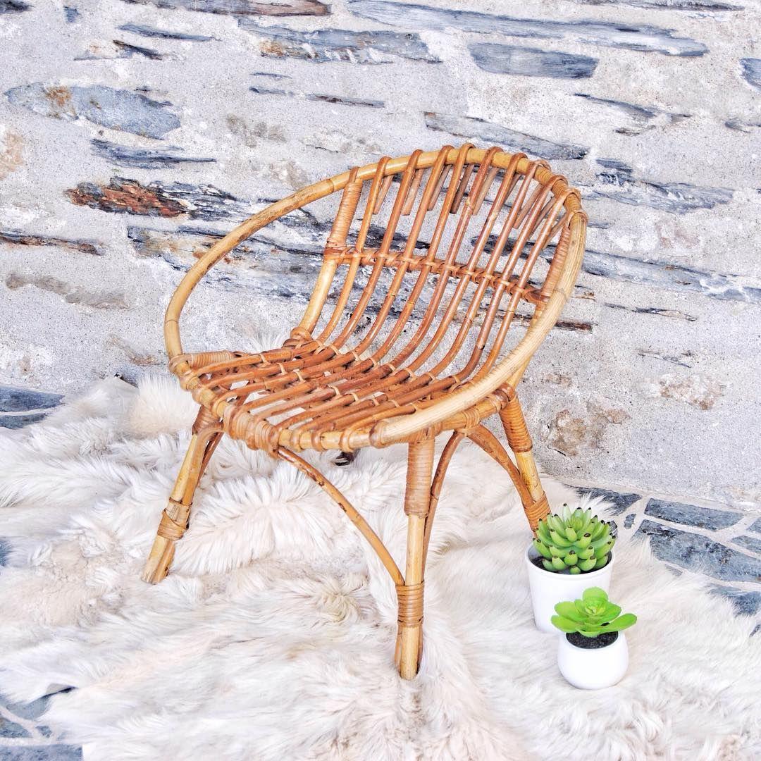 Fauteuil En Rotin D Enfant Vintage Bonne Soiree Grisgroseille Vintage Rotin Nordic Scandinave Home Cosy Kids Kidsdecor In 2020 Wicker Chair Wicker Decor