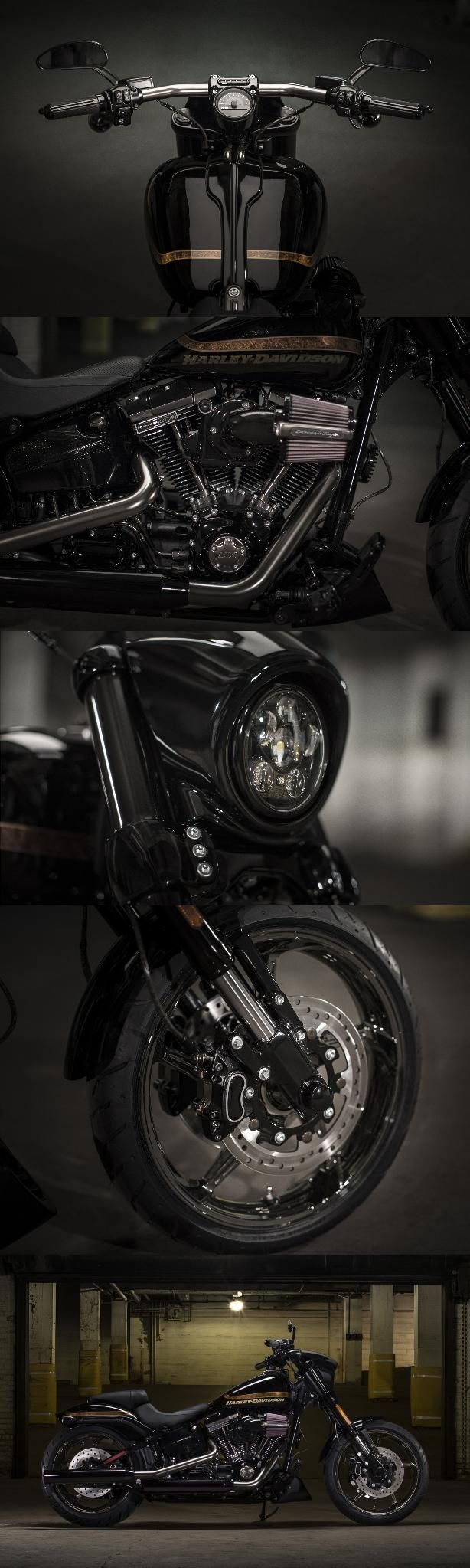Dark style and massive torque sit center stage in our top-of-the-line take on blacked-out American muscle.   2017 Harley-Davidson CVO Pro Street Breakout