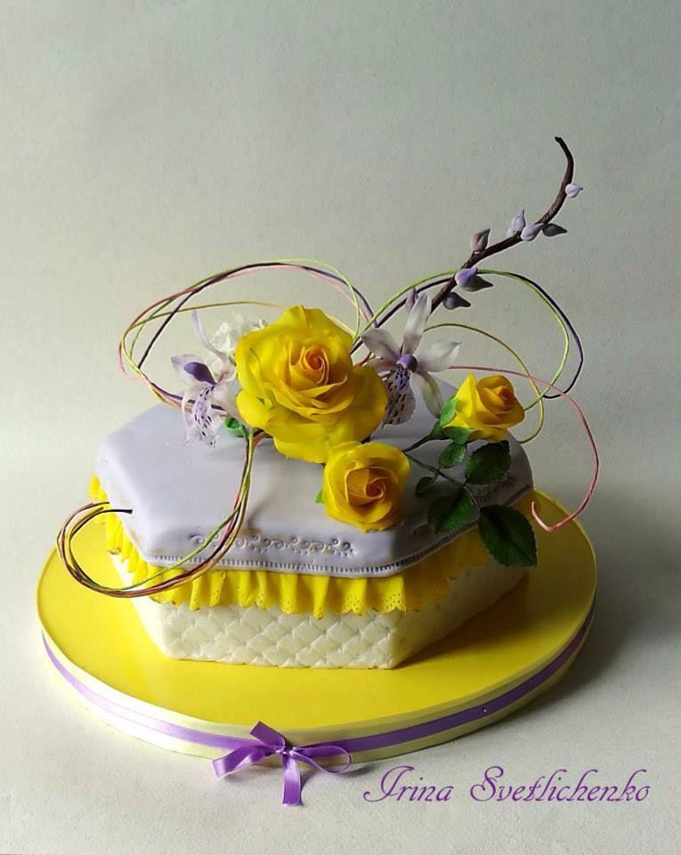 Pin By Sabina On Kwiaty Torty Tiered Cakes Birthday Single Tier Cake Cake Decorating