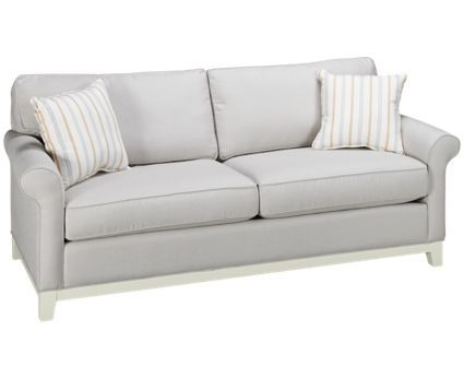 Capris Furniture Sunbrella   Eastern Pine Sunbrella   Eastern Pine Queen Sleeper  Sofa