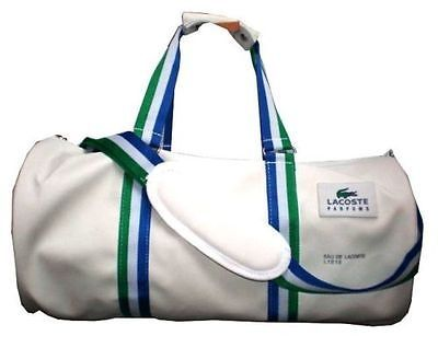 5ac5ce8f1a18d BRAND NEW LACOSTE Men Duffle Sports Gym Bag
