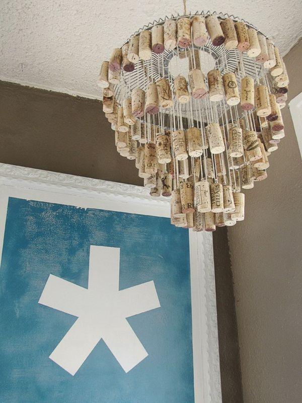 Finde Diesen Pin Und Vieles Mehr Auf Lampe Kronleuchter Licht Von Eugeniagrams Lampenschirm Aus Korken Basteln