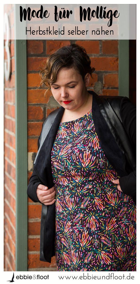 best cheap 0e9da 686d4 Kleid für große Größen nähen | Schnittmuster große Größen ...