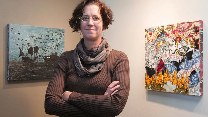 New director brings passion to her job Visual art, Art