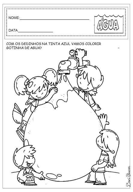 Dani Educar Atividades Agua Educacao Infantil Con Imagenes