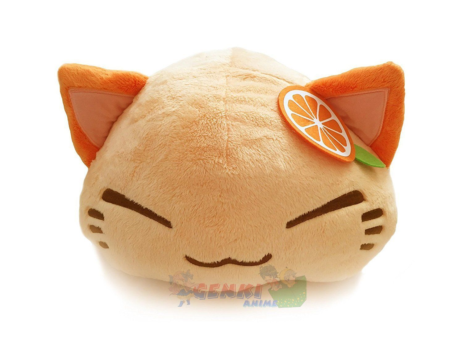 Amazon Com Furyu Nemuneko Cute And Fluffy Cat Plush 15 With