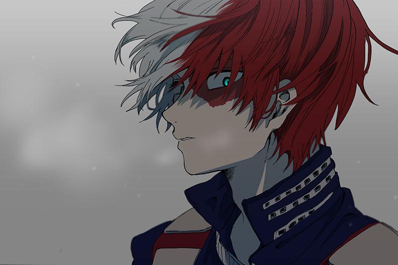 Todoroki Shouto Boku No Hero Academia Boku No Hero Academia My Hero Favorite Character