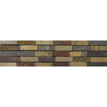 Emser Tile Natural Stone 4 X 12 Slate Border 23 Listello Emser Tile Emser Tile Trim