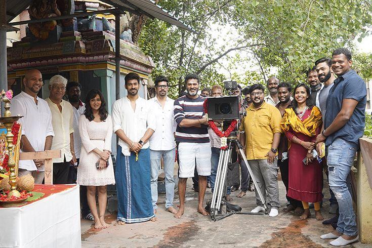 பிரபுதேவா நடிப்பில் இயக்குனர் சந்தோஷ் பி. ஜெயக்குமார் இயக்கத்தில்  தயாராகும் பெயரிடப்படாத  திரைப்படத்தின் படப்பிடிப்பு இன்று தொடக்கம்