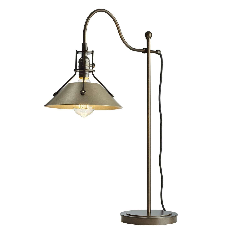 Casa Apollo Small Table Lamp, Gold | Leekes