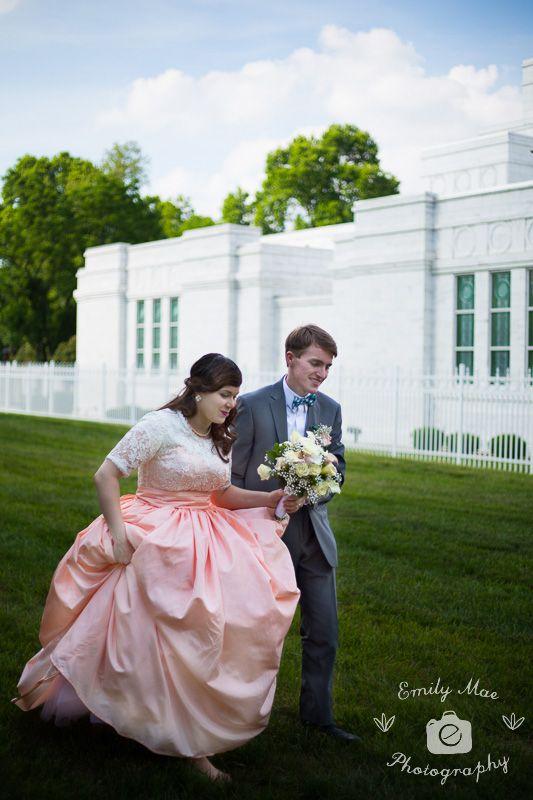 Emily Mae Photography: Emily & Josh Wedding | Church of Jesus Christ of Latter-day Saints Temple | Louisville Kentucky