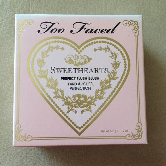 NEW Too Faced Sweethearts Perfect Blush New, authentic, Too Faced Sweethearts Perfect Flush Blush! Too Faced Makeup Blush