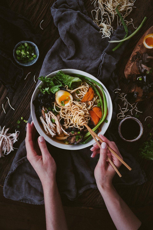 loaded chicken ramen — kitchenjulie  pork belly wheat
