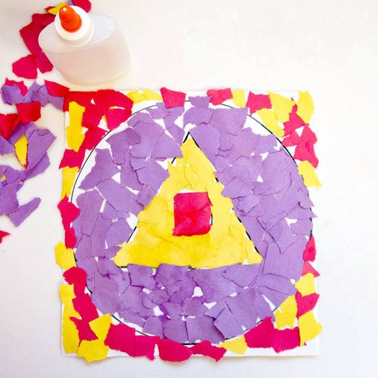 Torn paper shape collage collage diy craft craft ideas diy ideas diy torn paper shape collage collage diy craft craft ideas diy ideas diy crafts do it yourself solutioingenieria Gallery