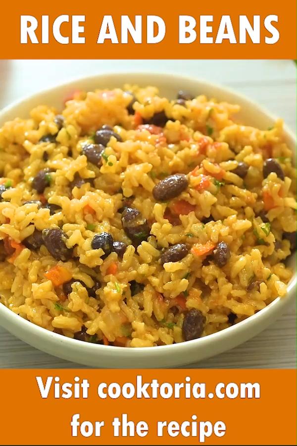 Rice and Beans #vegetariandish