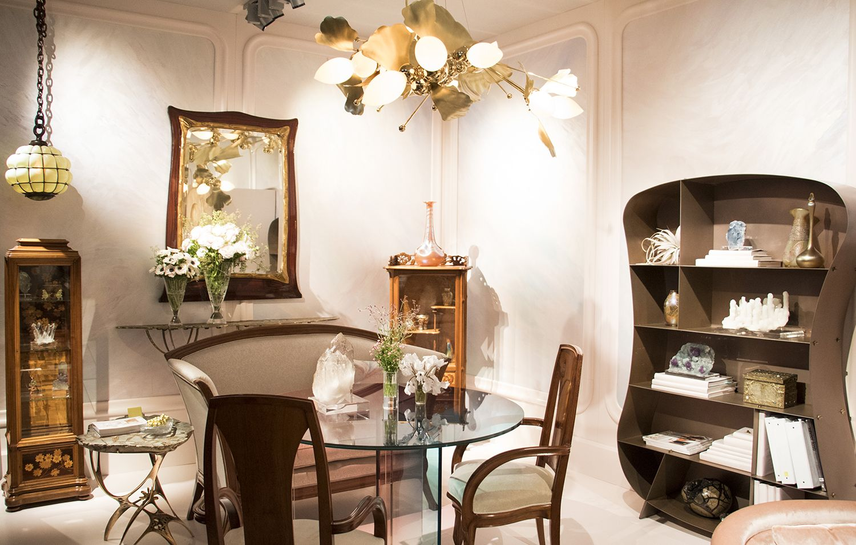 Designer Amy Lau Channels Art Nouveau At The Salon Show Galerie Interior Design Interior Top Interior Designers