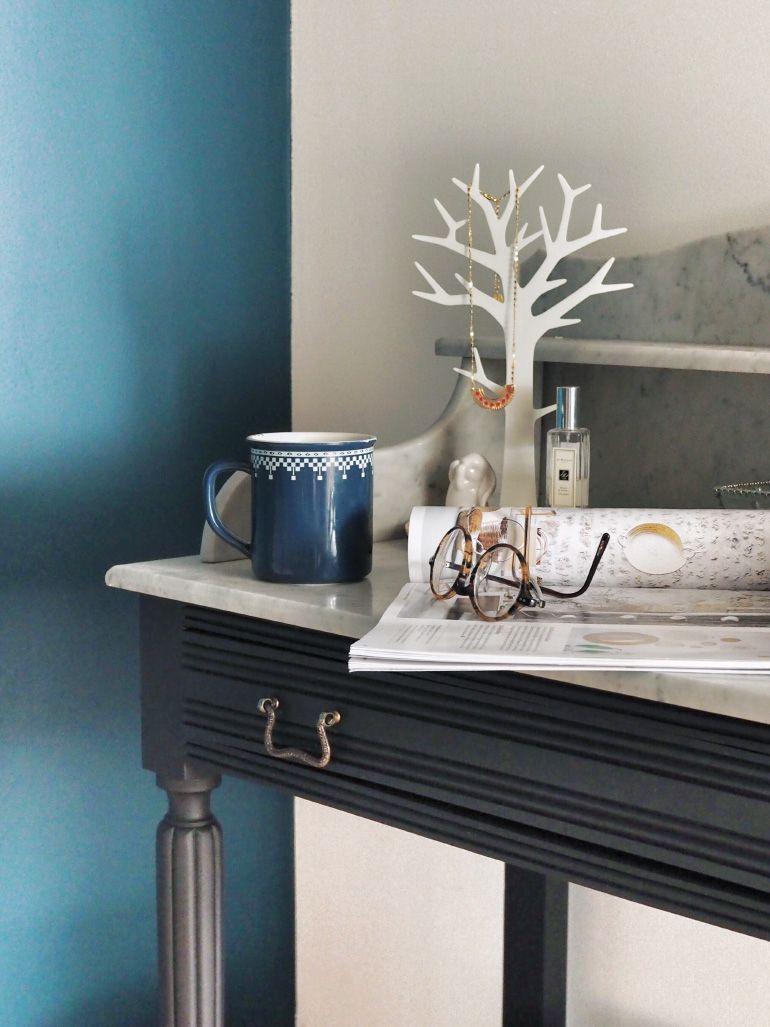 Relooker Une Table De Toilette En Marbre diy - rénovation de ma coiffeuse en bois et marbre   louise