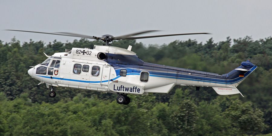 Luftwaffe Eurocopter AS 532 U2 Cougar