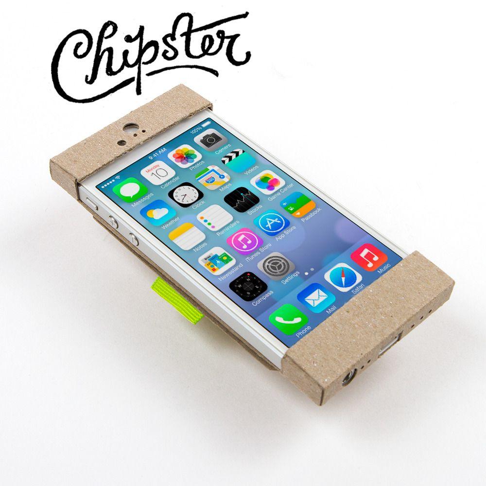 386cd05e747 Chipster - iPhone 5 Wallet/Case | Geeky Stuff | Pinterest