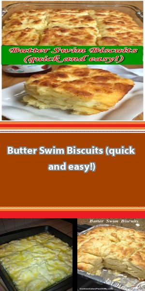 quick and easy Butter Swim Biscuits Thisquick and easy Butter Swim Biscuits is perfect for Biscuits lovers . It's fresh, easy, easy to make, healthy. the perfect recipe to make for your party...! #butterswimbiscuits