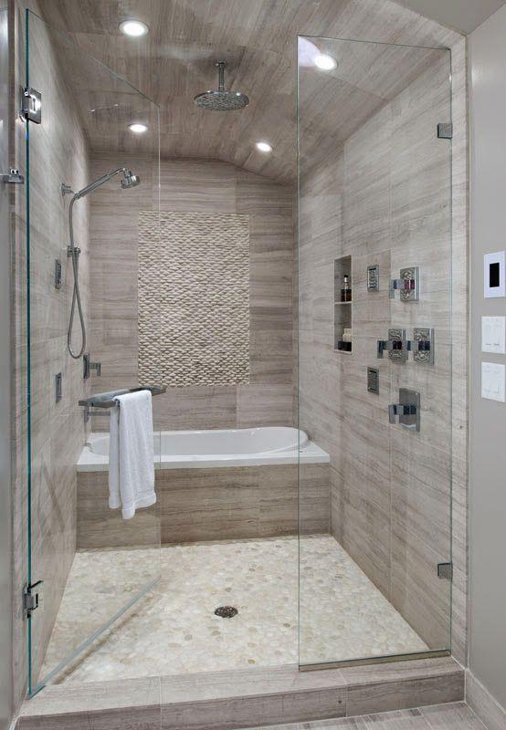 Jacuzzi inside the shower Genius SAVAGE Interior Design