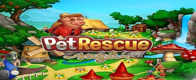 How To Download Pet Rescue Saga For Pc Game For Windows Pet Rescue Saga Animal Rescue Pets