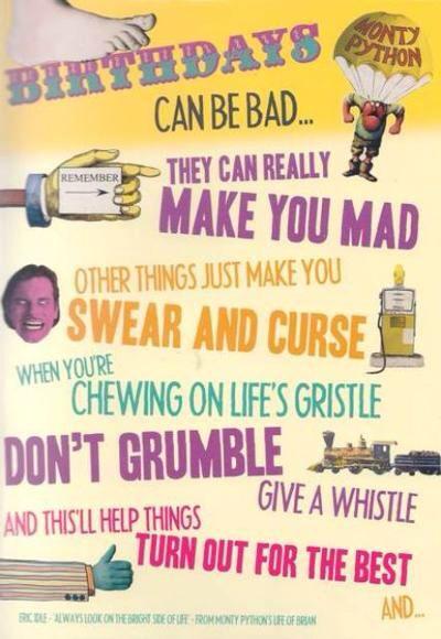 Birthday Monty Python Style Memes Greetings Pinterest