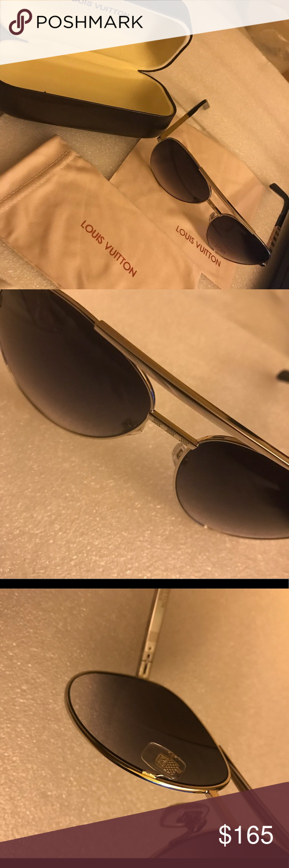 f32198e94747 Authentic LV Sunglasses Authentic Louis Vuitton Attitude Pilote model  Z0340U Sunglasses Louis Vuitton Accessories Sunglasses