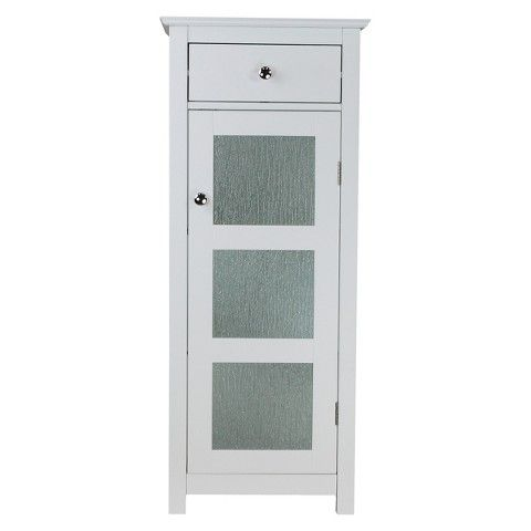 Connor 1 Door Floor Cabinet White Doors Bathroom Floor Cabinets