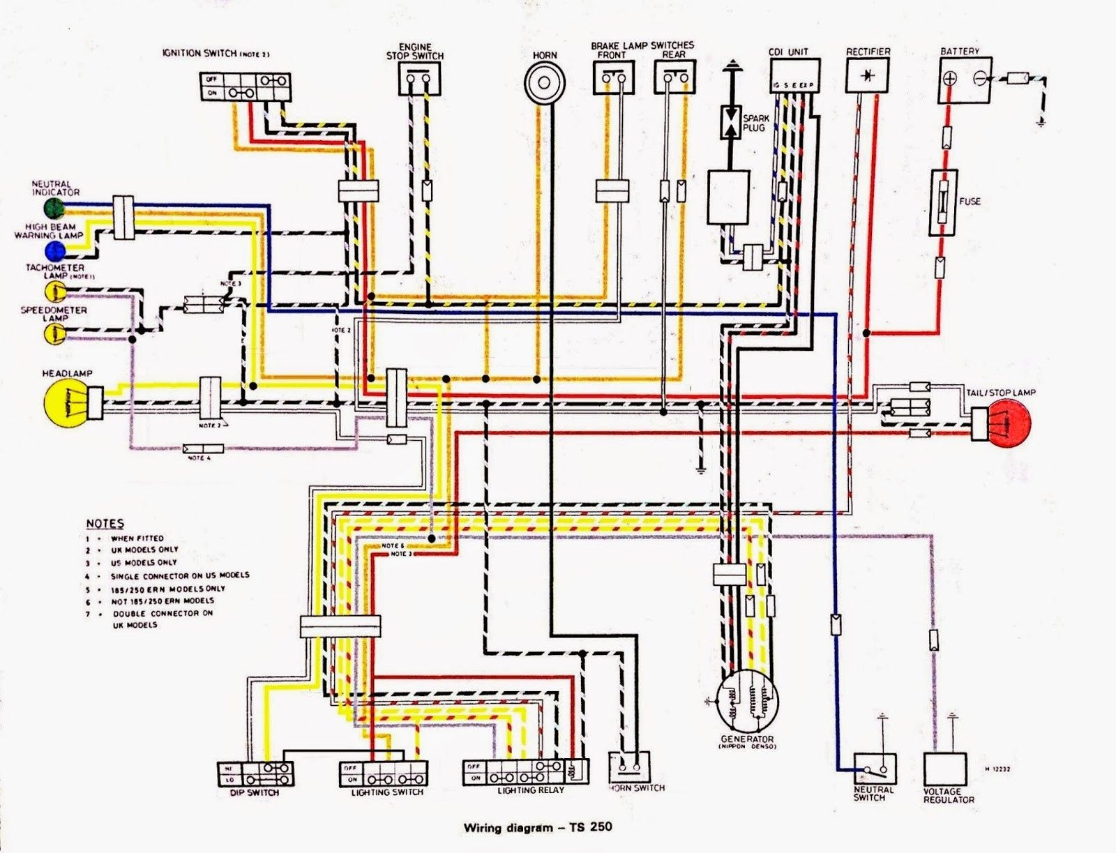 Fresh Wiring Diagram Suzuki Quadrunner #diagrams #digramssample  #diagramimages #wiringdiagramsample #wiringdiagram | Diagram, Suzuki dirt  bikes, Floor plansPinterest