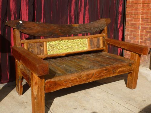 Brilliant Bali Hand Carved Recycled Solid Timber Sleepers Day Bed Theyellowbook Wood Chair Design Ideas Theyellowbookinfo