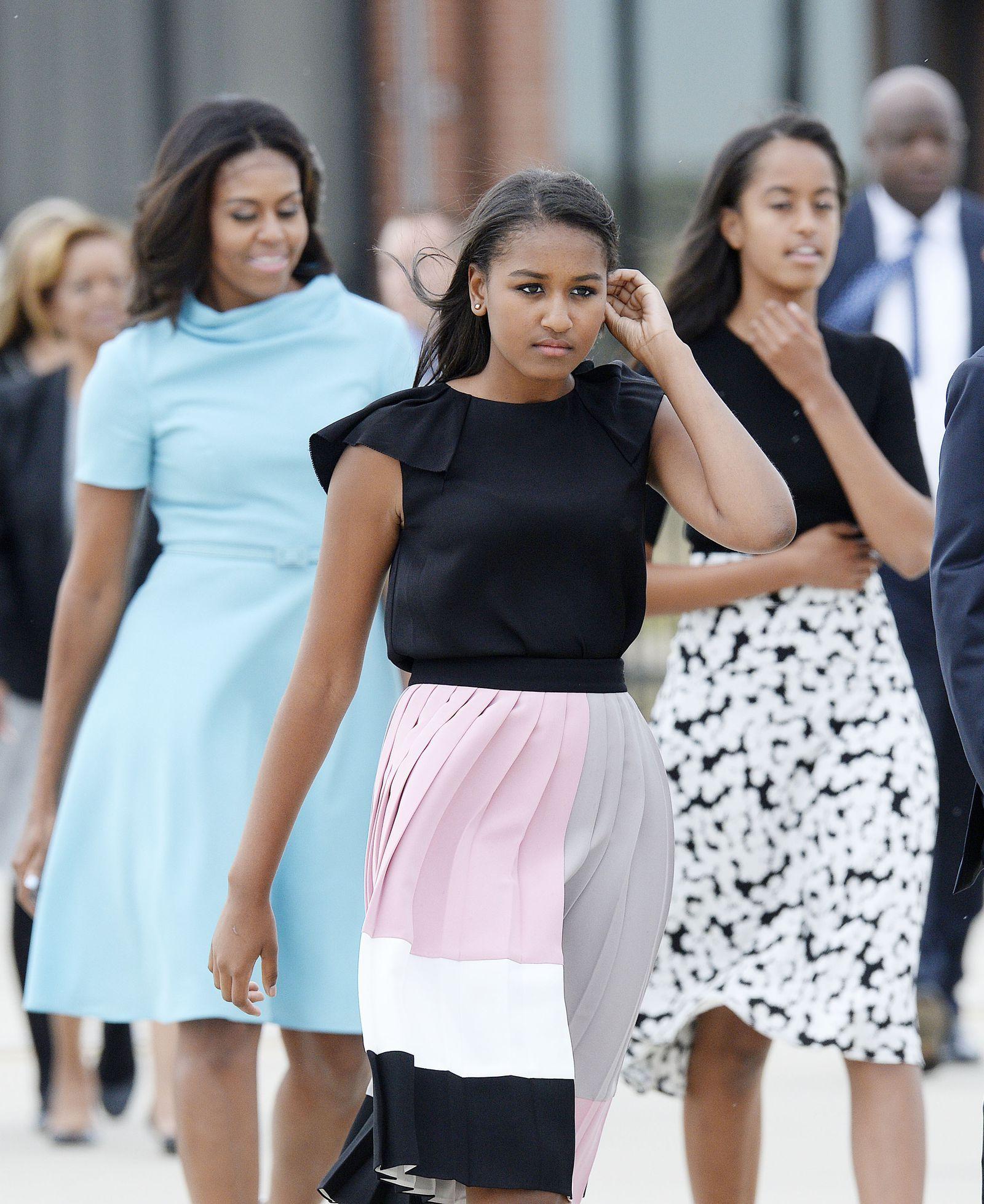 dochters obama