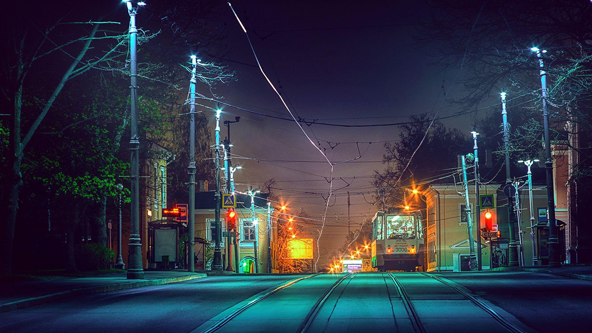 Обои здания, улица, красота, фонари, дома. Города foto 8