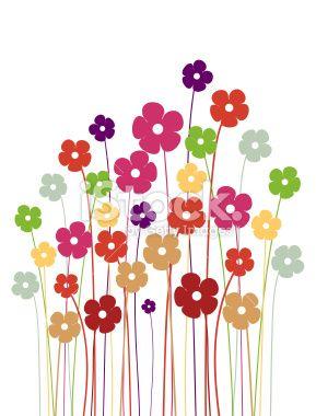 D coration de f te printemps beaut de la nature dessin for Annual dinner decoration