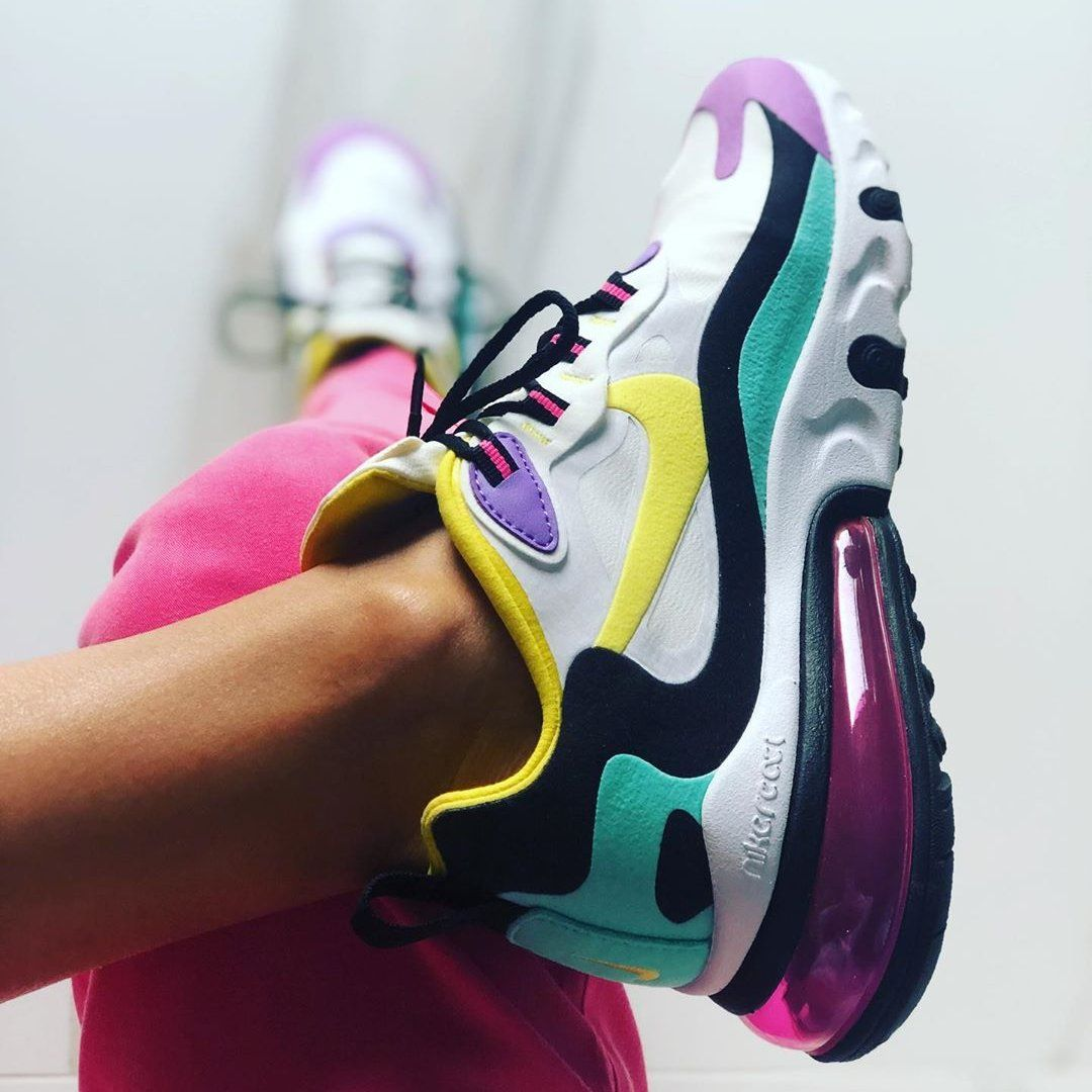 Find the Nike Air Max 270 React (American Modern) Women's