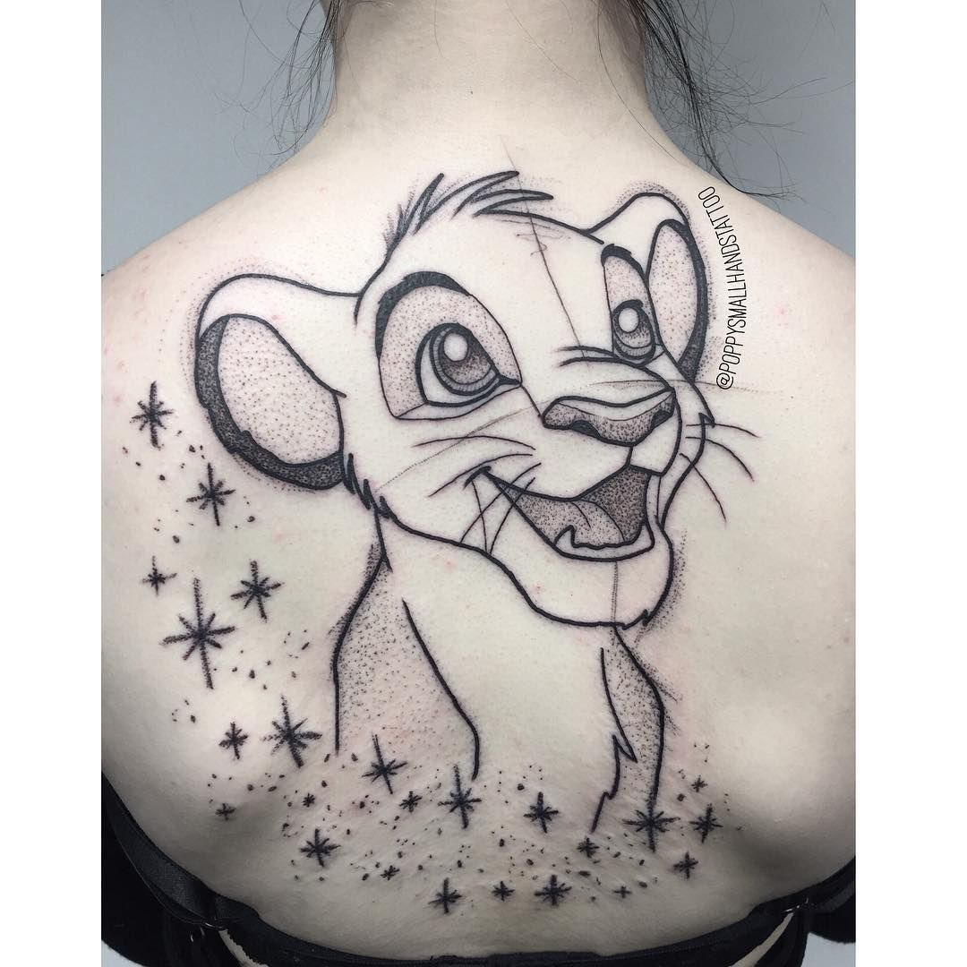 Simba Tattoo Am Handgelenk Mit Zitat Disney 3