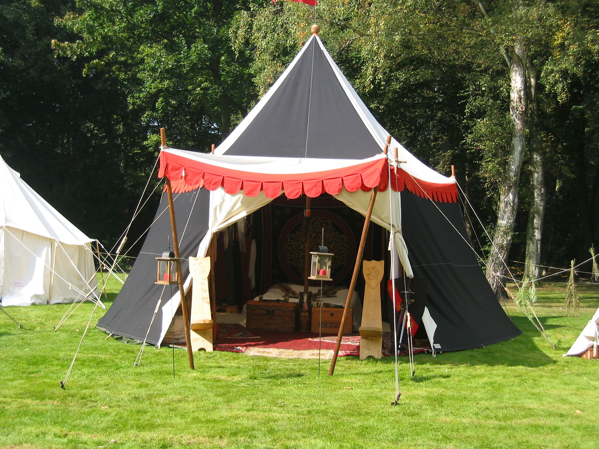 Medieval Tents Google Search Tents Camping Aesthetic