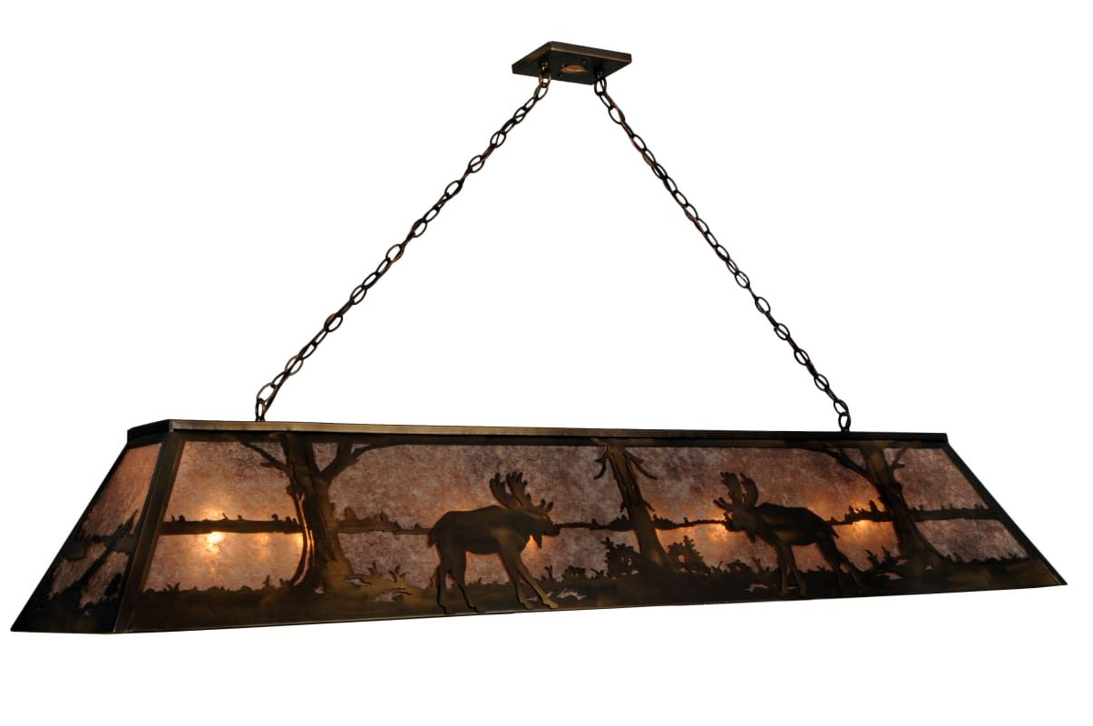 Meyda tiffany 50120 moose at lake 12 light 72 wide billiard meyda tiffany 50120 moose at lake 12 light 72 wide billiard chandelier with sil antique aloadofball Image collections