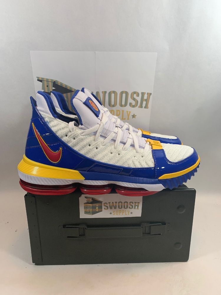 classic fit dab19 e517d NIKE LEBRON XVI 16 SB SUPERBRON CD2451-100 Size 12 New  Nike   BasketballShoes
