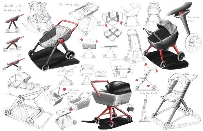 50++ Stroller kickboard with seat ideas